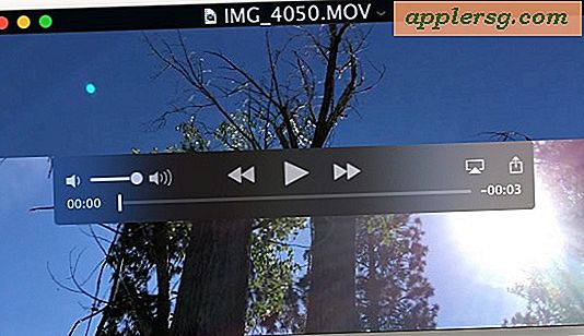 Hoe AirPlay Video van QuickTime Player in Mac OS X te spelen