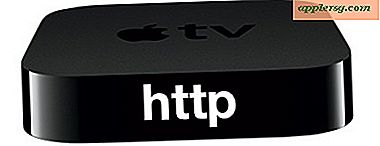 Skift et Apple TV 2 til en webserver