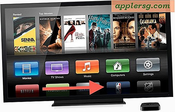 Ordna om Apple TV-startsymbolerna