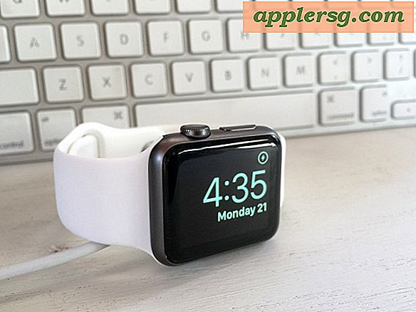Hoe Nightstand Clock Mode op Apple Watch te gebruiken