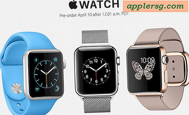 Apple Watch Pre-Orders begynder ved midnat den 10. april