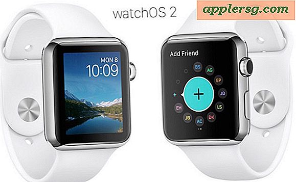 WatchOS 2 Update til Apple Watch Tilgængelig til Download & Installer