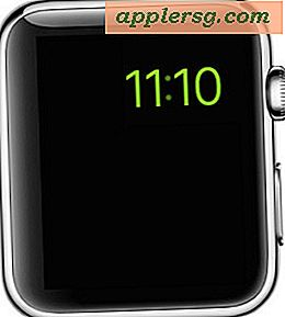 Hoe de Apple Watch Power Reserve-modus te betreden en te verlaten
