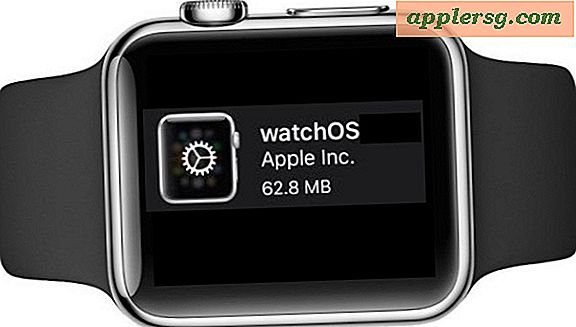 WatchOS 2.0.1 Update for Apple Watch med forbedringer for batterilevetid og feilrettinger