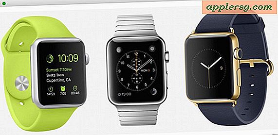 Pembaruan Apple Watch OS 1.0.1 Dirilis