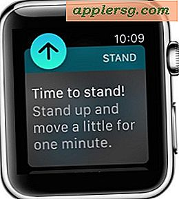 Så här stänger du av (eller på) Stand Up Reminder på Apple Watch