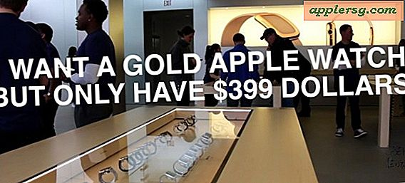 Få en $ 12,000 Gold Apple Watch Edition på en $ 400 budsjett ... Sort av