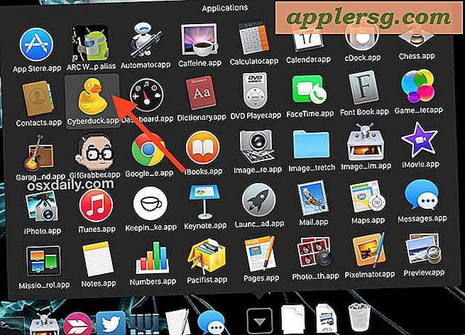 Markeer Stack-items op de aanwijzer in Mac OS X Dock