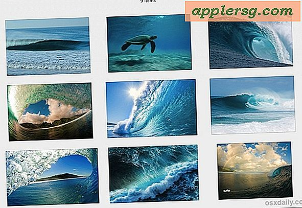 9 Awesome Wave Wallpapers zu dekorieren Hintergründe wie ein Apple Product Shot