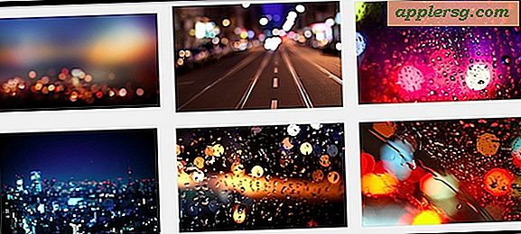 6 Beautiful Bokeh City Light Bakgrunnsbilder