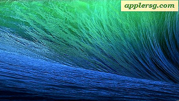 Holen Sie sich das Standard OS X Mavericks Wave Wallpaper
