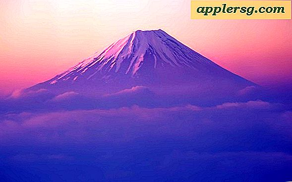 New Mt Fuji Wallpaper i Mac OS X Lion Developer Preview 2