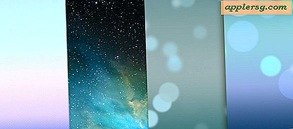 Grijp de iOS 7-standaard Wallpapers voor iPhone en iPod touch