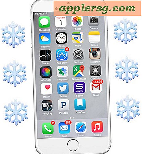 4 Minimalistiske Snow Texture Baggrunde til iPhone 6 Plus & iPad Air 2