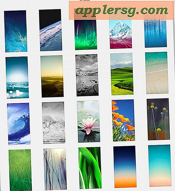 33 Neue Wallpapers von iOS 7 für iPhone & iPod Touch