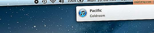"Toon een ""Now Playing"" Song Melding van iTunes in OS X Berichtencentrum"