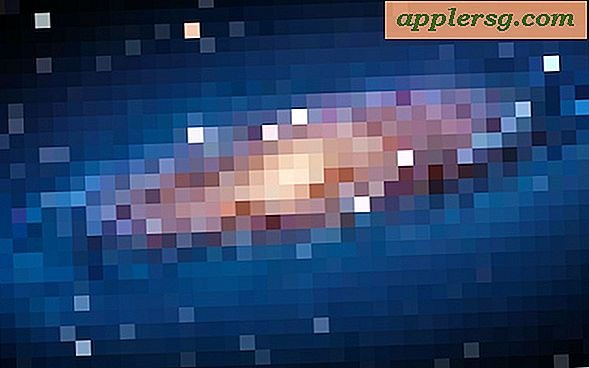 Pixel Version af Andromeda Galaxy Wallpaper fra OS X Lion