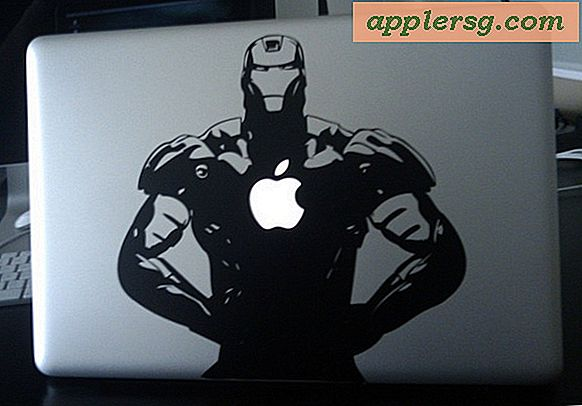 iRon Man MacBook Pro-embleem