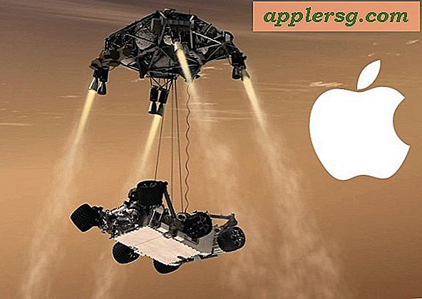 NASA Brugt Tons of Macs & iPads for Mars Curiosity Landing