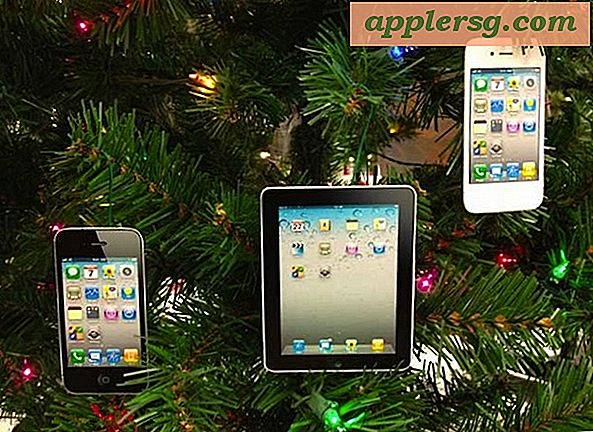 Versier een kerstboom met iPad- en iPhone-ornamenten
