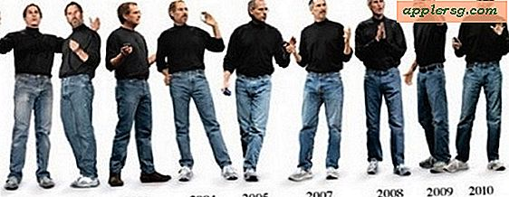 Evolutionen af ​​Steve Jobs