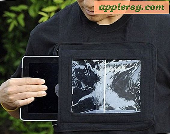 iPad Shirt, Yes Seriøst, Bær en iPad som en skjorte