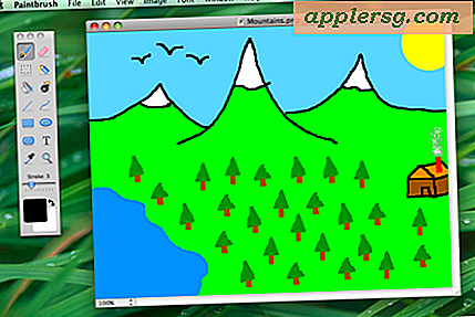 Paintbrush er MS Paint Clone til Mac OS X, du har brug for