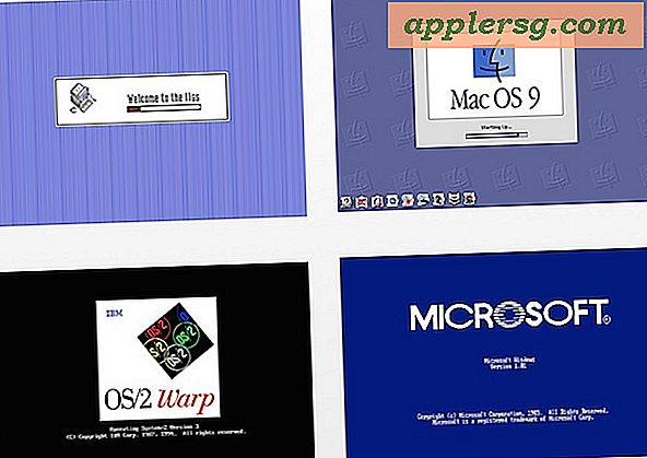 Genoplive gamle Retro Mac & PC Boot Sequences på nettet