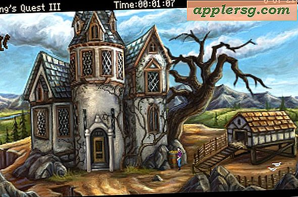 Kings Quest 1, 2, & 3 er gratis at hente til Mac - Blast fra fortiden!