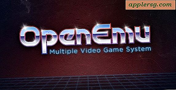 Nintendo 64 og Playstation Emulatorer for Mac OS X: OpenEmu