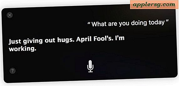 April Fools Day Fun med Siri