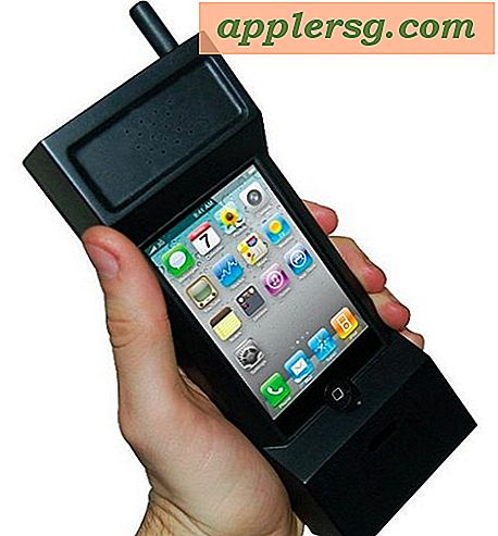 Den ultimative Retro iPhone-sag skifter din iPhone til en 80'ers blokcelletelefon