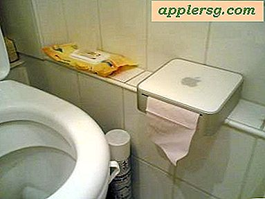 Mac Mini toiletpapierdispenser