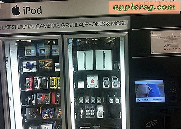 iPad Vending Machines ?!