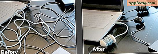 Organiseer Cord Clutter met AppleCore Cable Management