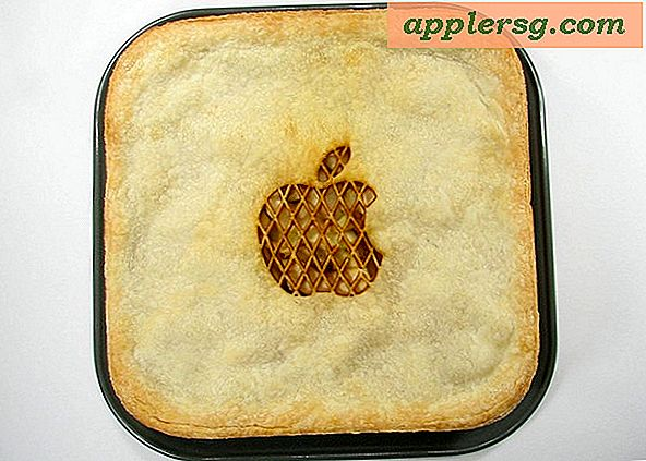 "The Ultimate Mac Fan Thanksgiving Recept: een echte ""Apple"" taart"