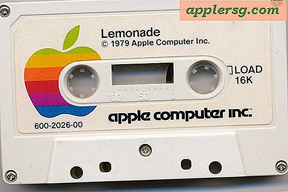 Er was eens ... Apple Cassettes