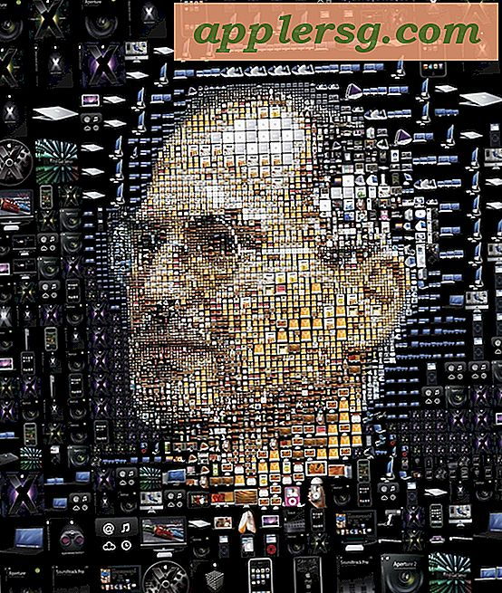 Syv fantastiske Apple Themed Photo Mosaics