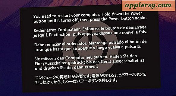 Fake Kernel Panic är Ultimate Mac Prank