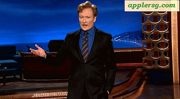 Conan O'Brien Rips på iPad Mini i Hilarious Fake Commercial [Video]