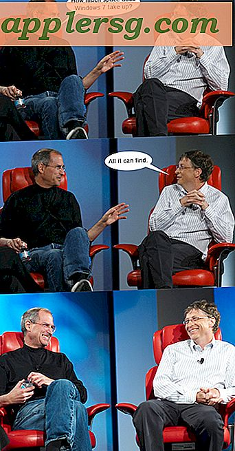 Humor: Steve Jobs & Bill Gates har en chat