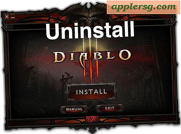 Verwijder Diablo 3 Open Beta en Reclaim 5GB + Disk Space