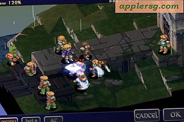 Final Fantasy Tactics til iPhone og iPad kommer snart