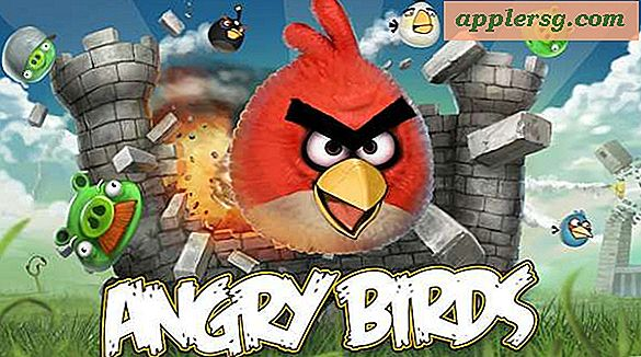 Angry Birds for Mac Tastaturgenveje