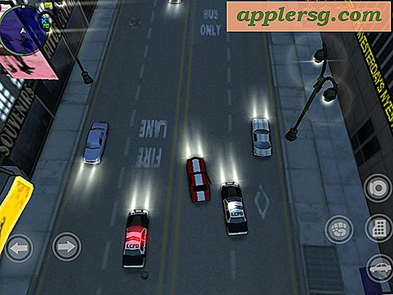 Grand Theft Auto voor iPad