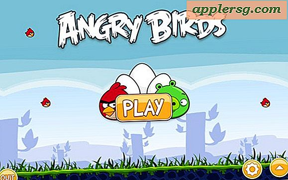 Angry Birds Update fügt älteren MacBook GMA 950 Grafik-Support hinzu