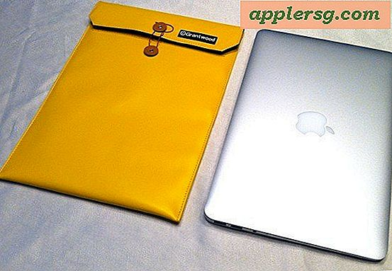 MacBook Air Envelope Case ser diskret ut och jag vill ha en