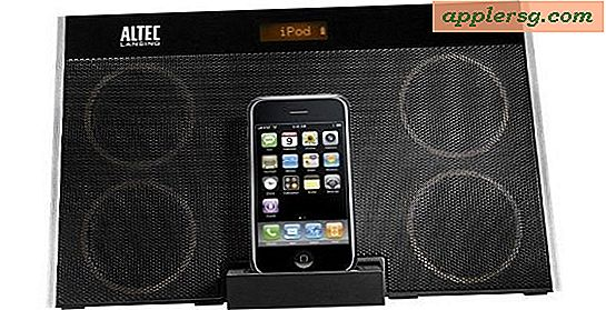 Altec Lansing InMotion Speaker Dock til iPod og iPhone til 69% Off