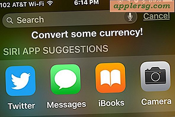 Converteer valuta in Spotlight Search voor iOS