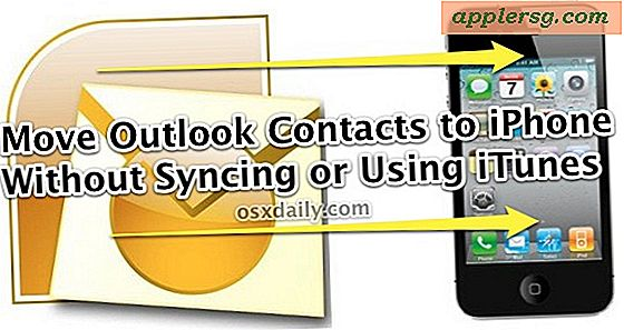 Transférer des contacts Outlook sur un iPhone sans synchroniser ou utiliser iTunes